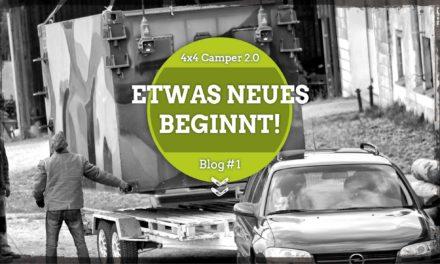Unser neues Projekt – 4×4 Camper 2.0