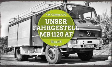 Unser Fahrgestell – MB 1120 AF